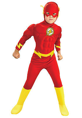The Flash - Child Muscle Costume - Cheap Child Costumes
