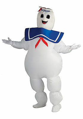 Ghostbusters - Adult Stay-Puft Marshmallow Man Inflatable Costume