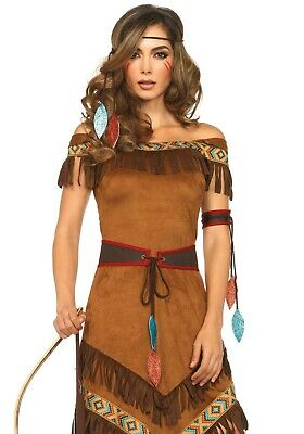 Leg Avenue 85398 Native Princess Indianerin Damen Kostüm Fasching Helloween - Native Indian Princess Kostüm