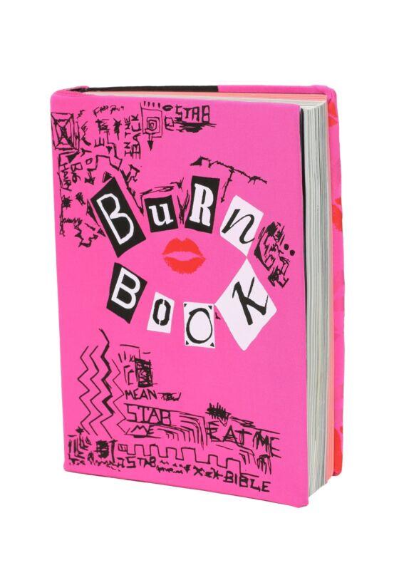 Mean Girls Burn Book Stretchy Book Cover