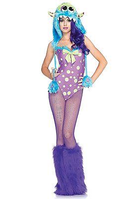 LAG Leg Avenue 85017 Fasching Damen Kostüm Monster - Monster Kostüme Damen