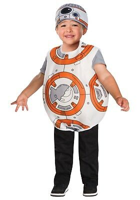 Disney Star Wars BB-8 Costume Dress Up Toddler Child Size 2T BB8 2-3 Years