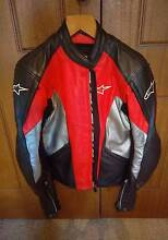 USA size 42 Alpinestars Leather Jacket As New Condition Horsley Park Fairfield Area Preview