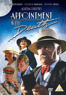 AGATHA CHRISTIE'S POIROT APPOINTMENT WITH DEATH DVD Peter Ustinov UK Movie Film