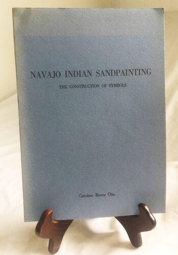 Navajo Indian Sandpainting by Caroline B. Olin—RARE 1972 Very Nice Paperback