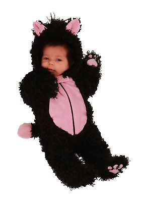 Natalie Kitty Baby Black Cat Newborn Costume 0/3 3/6 months Princess Paradise - Baby Costume Cat
