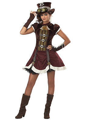 Steampunk Girl - Adult / Tween Costume - Girls Steampunk Costume
