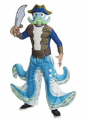 Skylanders Washbuckler Costume Size Small (4-6) for 3-4 year - 4 Year Old Costumes