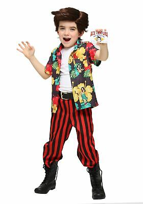 Ace Ventura Toddler Costume with Wig and ID Size - Ace Ventura Costume