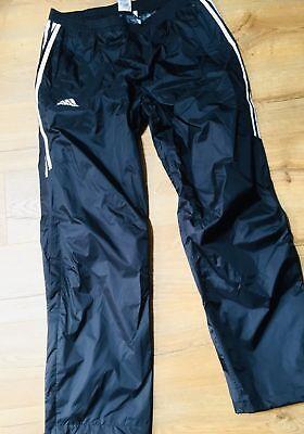 (adidas Wet Look SILKY retro track bottoms Nylon pants Shiny)