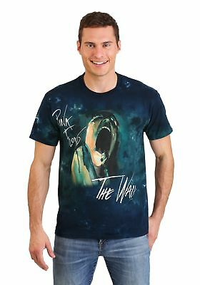 - Adult Pink Floyd The Wall Screaming Face Tie-Dye T-Shirt