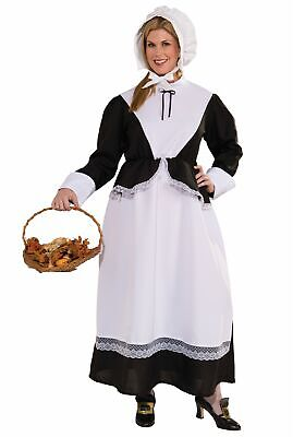 Plus Size Pilgrim Woman Costume](Pilgrim Costume Women)