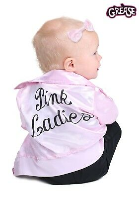CYBER MONDAY Pink Ladies Costume Jacket Grease for Infant Girl and Kid Retro - Grease Pink Ladies Jacket For Kids