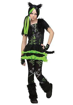 Kool Kat Halloween Costume (Teen Kool Kat Black Cat Costume (Junior 0-9) with)