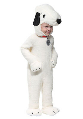 Peanuts - Snoopy Super Deluxe Infant/Toddler Plush Costume ](Deluxe Baby Costumes)