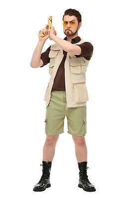 The Big Lebowski Mens Walter Sobchak (Big Lebowski Walter Kostüm)