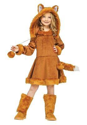 Sweet Fox Costume (GIRLS SWEET FOX COSTUME DRESS SIZE MEDIUM and LARGE (missing)