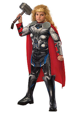 Avengers - Age of Ultron - Thor Child Muscle Costume W/ Bonus ID Tags!