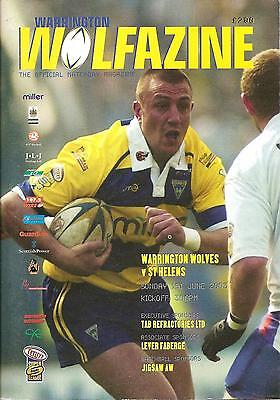 Warrington v St Helens - Super League - 2003