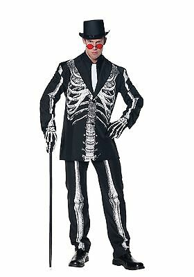 Underwraps Knochen Daddy Cosplay Skelett Anzug Halloween Creepy XXL Kostüm - Daddy Anzug Kostüm