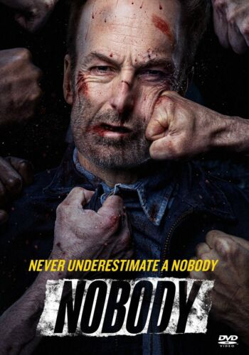 Nobody DVD (2021 Action) - Bob Odenkirk - Brand New w/ Free Shipping!