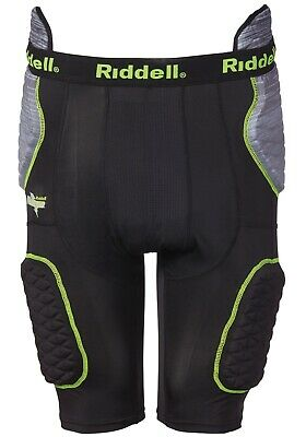 Riddell Power 5 Pad Compression Integrated Girdle Youth M ,WAS -