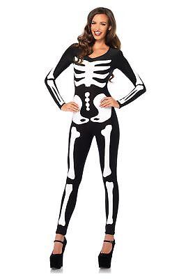Glowing Skeleton - Glow In the Dark Skeleton Catsuit