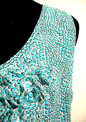 Tory Burch Silk Sleeveless Ruffle Blouse Size 10