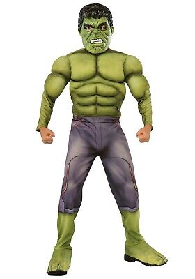CHILD DELUXE HULK AVENGERS 2 COSTUME SIZE MEDIUM 8-10 (w/defect)](Baby Hulk Costumes)