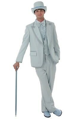 X-men Costumes For Men (Men's Baby Blue Authentic Tuxedo Dumb & Dumber Costume USED Size S, M, L, XL,)
