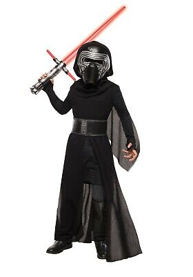 Child Kids Boys Kylo Ren Super Deluxe Costume SIZE Small (Used)