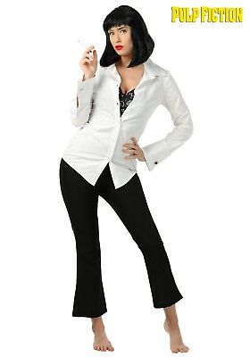 WOMENS PULP FICTION MIA WALLACE COSTUME SIZE MEDIUM (w/defect) (Mia Wallace Kostüm Pulp Fiction)