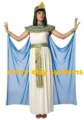 Cleopatra Halloween Costumes For Women (Adult Cleopatra Costume Halloween Size Small (4/6) Womens Queen of the)