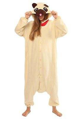 Halloween Pug Dog Onesiee Kigurumi Fancy Dress Costume Pyjama Sleep wear suit (Pugs Wearing Halloween Costumes)
