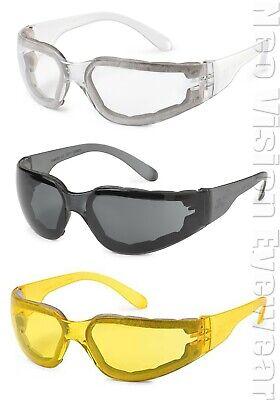 3 Gateway Starlite Foam Pro Clearsmokeyellow Anti Fog Safety Glasses Padded