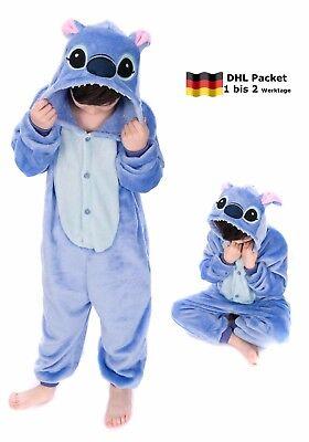 Erwachsene Disney Onesies (Tier Onesie Pyjama Disney Stich Kostüme Kigurumi Schlafanzug Erwachsene Unisex)