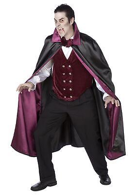Mens Vampire Costumes (Mens Deluxe Vampire Costume)