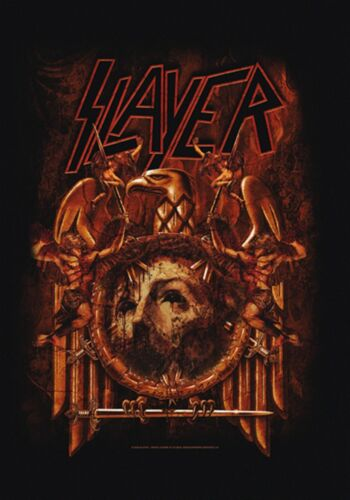 """Slayer Eagle Repentless Kerry King Fabric Cloth Textile Poster Flag 30"""" x 40"""""""