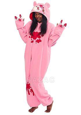 SAZAC Gloomy Bear Pink Kigurumi - Adult Costume from - Gloomy Bear Halloween Costume