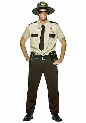 Super Trooper Costume Halloween (Rasta Imposta State Super Trooper Tan Adult Men's Halloween Costume)