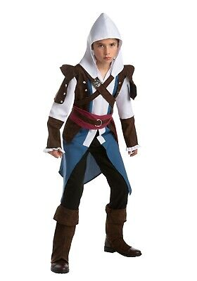 Assassins Creed Costume Kid Size (Boys Child Assassins Creed Edward Kenway Costume SIZE M/L 12-14 (with)