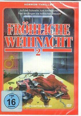 Fröhliche Weihnacht 2 ( Horrorfilm UNCUT ) mit Richard Gabai, Daniel Hirsch NEU