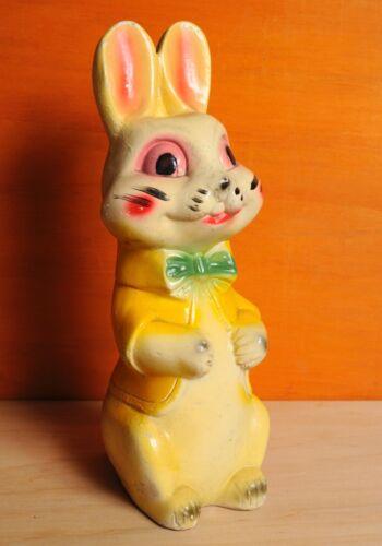 Vintage Bunny Bank Rabbit Chalkware Carnival Prize Easter