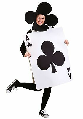 Adult Ace of Clubs Costume - Ace Of Clubs Kostüm