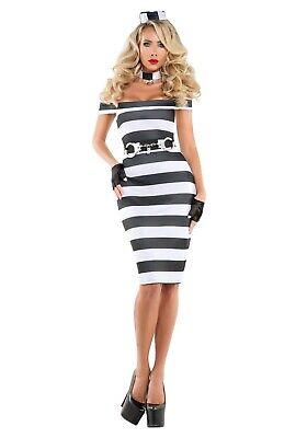 Starline Women's Pinup Prisoner Costume Size XL](Women Prisoner Costume)