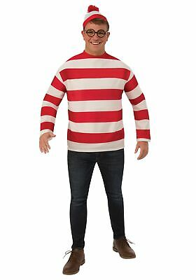 Where's Waldo: Plus Size Adult - Where's Waldo Kostüm