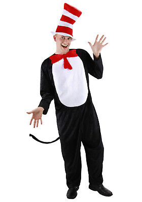 Dr. Seuss - The Cat In The Hat Adult Costume - Elope](Cat In The Hat Costume Adult)