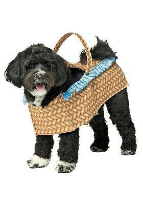 TOTO WIZARD OF OZ DOG IN BASKET PET COSTUME SIZE L XL - Wizard Of Oz Toto Costume