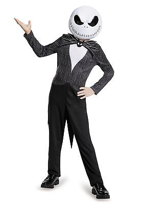 Jack Black Costume (Child Jack Skellington)