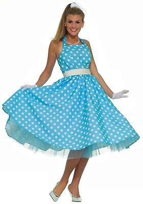 Plus Size 50's Costume (LADIES 50S COSTUME PLUS SIZE 18-22)